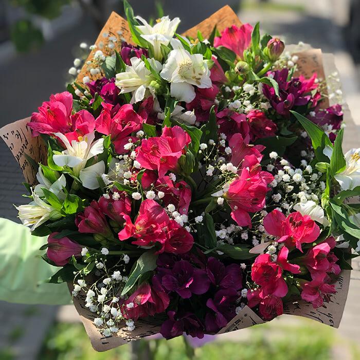 Цветы с доставкой по москве стоимость букета до 250 рублей