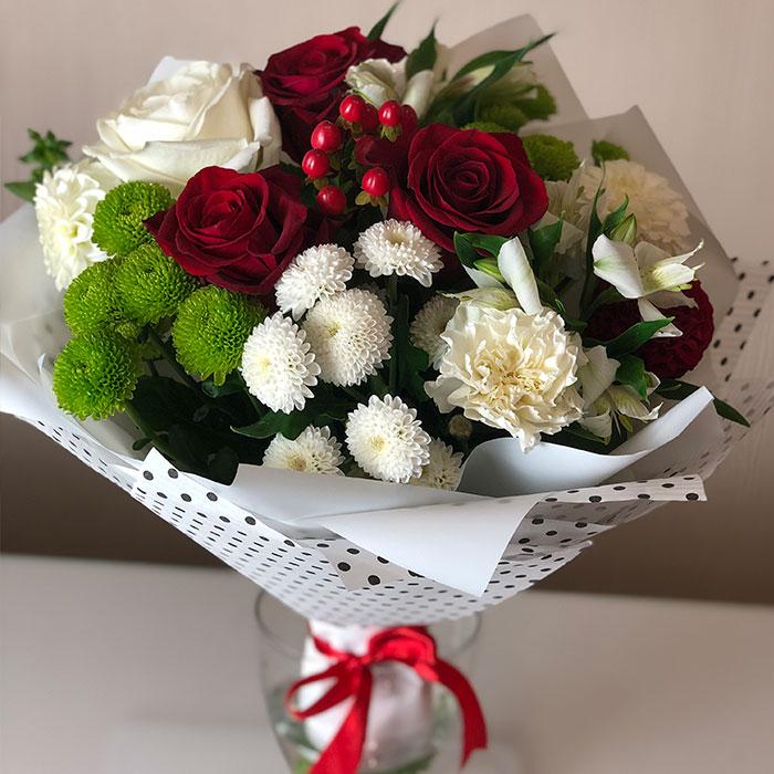 Букет на 1500 руб, цветок